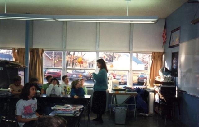 Урок в 5-м классе американской средней школы, Morristown, NY